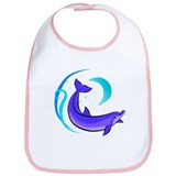 Night Dolphin Bib