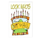 Look Who's Over The Hill Postcards (Package of 8)