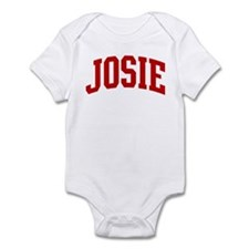 JOSIE (red) Infant Bodysuit