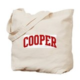 COOPER (red) Tote Bag