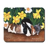Dutch Bunny Babies Mousepad