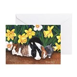 Dutch Bunny Babies Greeting Cards (Pk of 20)