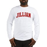 JILLIAN (red) Long Sleeve T-Shirt