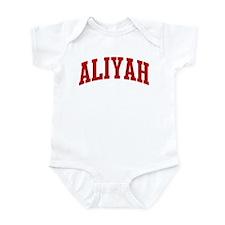 ALIYAH (red) Infant Bodysuit