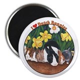 "I love Dutch Bunnies 2.25"" Magnet (10 pack)"