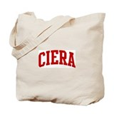CIERA (red) Tote Bag