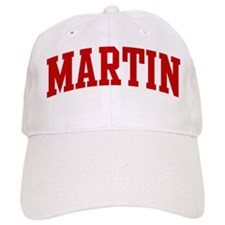 MARTIN (red) Baseball Cap