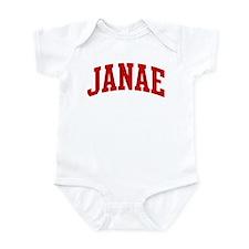 JANAE (red) Onesie