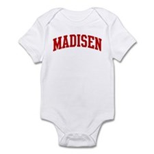 MADISEN (red) Infant Bodysuit