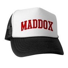 MADDOX (red) Trucker Hat