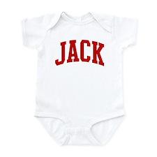 JACK (red) Infant Bodysuit