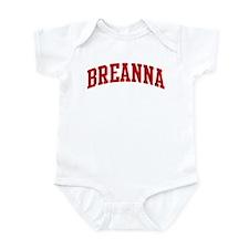 BREANNA (red) Infant Bodysuit