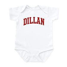 DILLAN (red) Infant Bodysuit