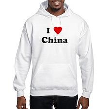 I Love China Hoodie