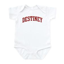 DESTINEY (red) Infant Bodysuit
