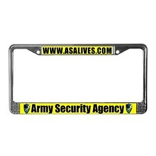 Cute Heritage License Plate Frame
