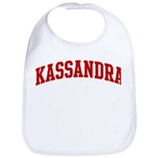 KASSANDRA (red) Bib