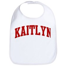 KAITLYN (red) Bib