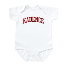 KADENCE (red) Infant Bodysuit