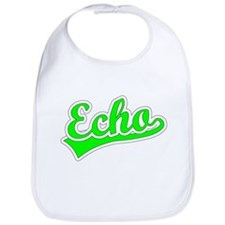 Retro Echo (Green) Bib