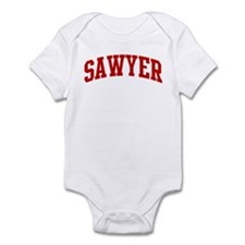 SAWYER (red) Infant Bodysuit