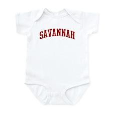 SAVANNAH (red) Infant Bodysuit