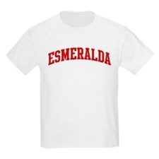 ESMERALDA (red) T-Shirt