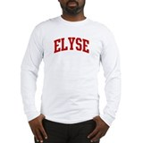 ELYSE (red) Long Sleeve T-Shirt