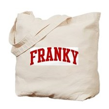 FRANKY (red) Tote Bag