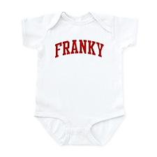 FRANKY (red) Infant Bodysuit