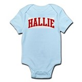 HALLIE (red) Onesie