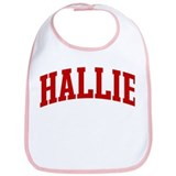 HALLIE (red) Bib