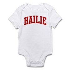 HAILIE (red) Infant Bodysuit
