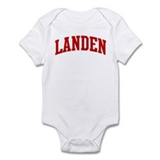 LANDEN (red) Infant Bodysuit