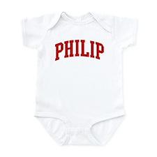 PHILIP (red) Infant Bodysuit