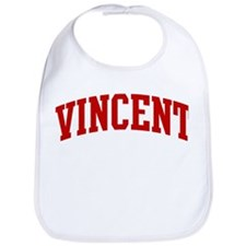 VINCENT (red) Bib