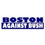 Boston Against Bush (bumper sticker)