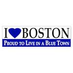 I Love Boston (Proud bumper sticker)