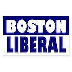 Boston Liberal Bumper Sticker