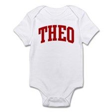 THEO (red) Infant Bodysuit