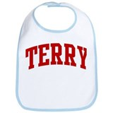 TERRY (red) Bib