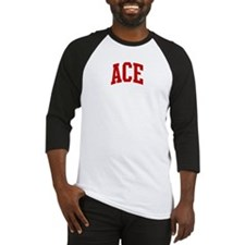 ACE (red) Baseball Jersey