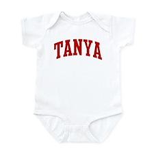 TANYA (red) Infant Bodysuit