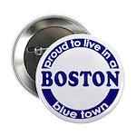 Boston: Proud Blue Town (Button)