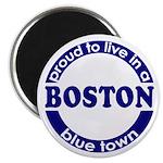 Boston: Proud Blue Town Magnet