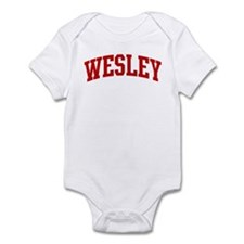 WESLEY (red) Infant Bodysuit