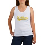 Vintage Ashtyn (Orange) Women's Tank Top