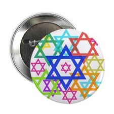 "Star of David 2.25"" Button (100 pack)"