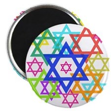 "Star of David 2.25"" Magnet (10 pack)"