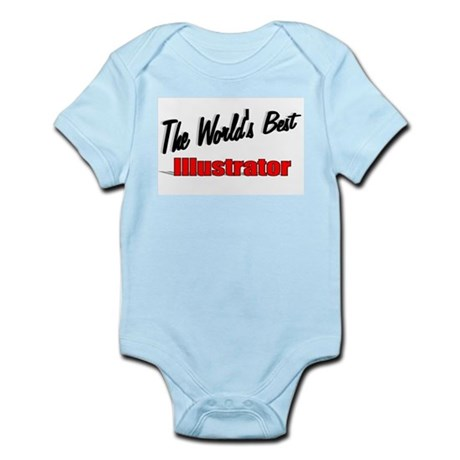 &quot;The World's Best Illustrator&quot; Infant Bodysuit